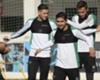 Gutiérrez recibió el alta médica y volvió a entrenar en el Real Betis