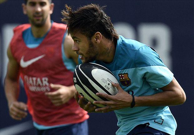 Neymar: Barcelona make me hugely happy