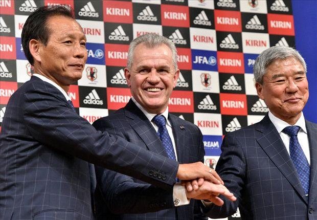 Javier Aguirre, presentado como seleccionador de Japón