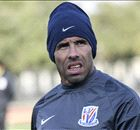 TEVEZ: 'Very close' to top form