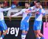 Napoli celebrate a goal in Serie A
