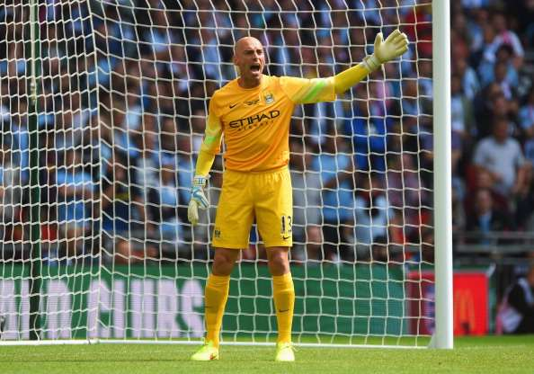 Caballero: I want to be Manchester City No. 1