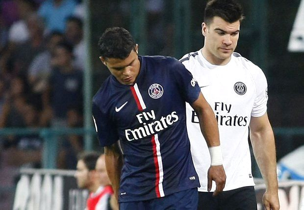 Thiago Silva injury my fault, says Blanc