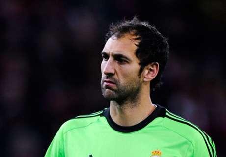 Diego Lopez to miss Juventus clash