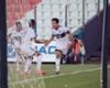 La alegría de Mouche tras su primer gol