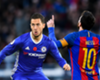 Hazard vs Messi - stats showdown