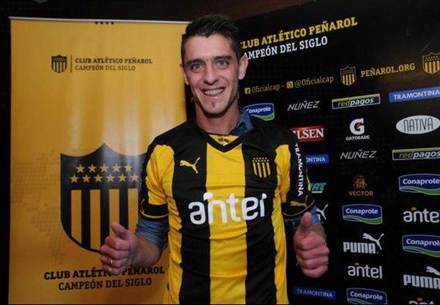 Silva a préstamo en Peñarol hasta diciembre