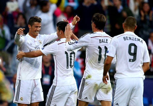 James' debut, Bale's house - but the Super Cup was Ronaldo's party