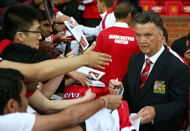 Welcome to Vanchester - Van Gaal gets red carpet welcome but work still to be done at Old Trafford