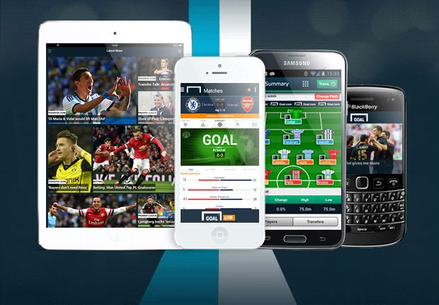 Goal's complete app collection