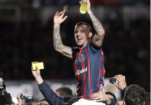 Romagnoli viene de ser una de las figuras en la obtención de la Copa Libertadores.