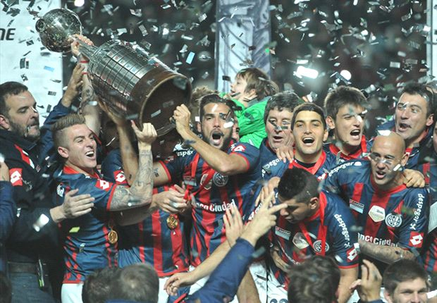 San Lorenzo 1-0 Nacional (agg 2-1): Pope's team win Copa Libertadores for first time