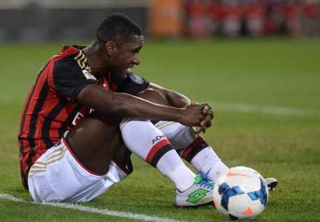 Zapata inconforme en el Milan