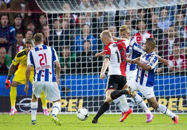 Feyenoord 1-1 Heerenveen: Te Vrede spares hosts' blushes