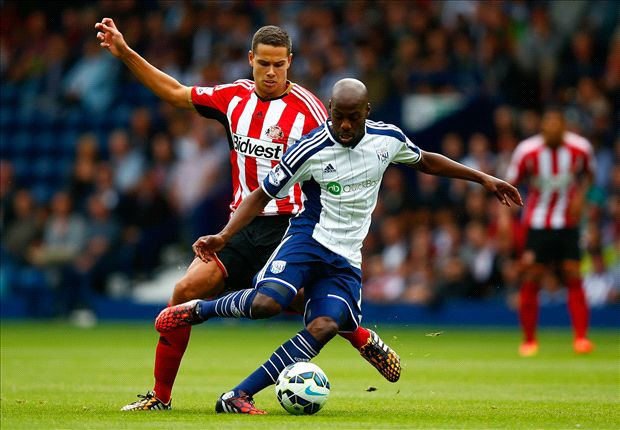 West Brom 2-2 Sunderland: Larsson snatches equaliser after Berahino double