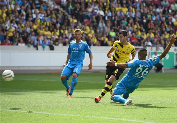 Stuttgarter Kickers 1-4 Borussia Dortmund: Reus & Subotic return in cup cruise