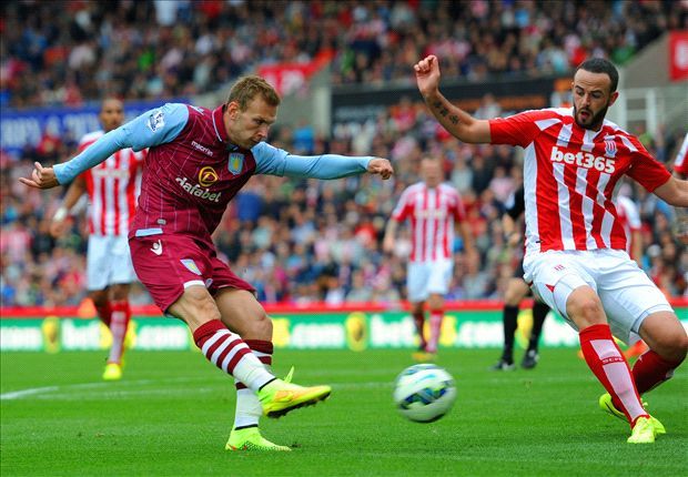 Stoke City 0-1 Aston Villa: Bojan debut ends goalless as Weimann seals win
