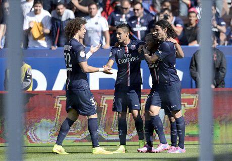 Ligue 1: PSG 2-0 Bastia