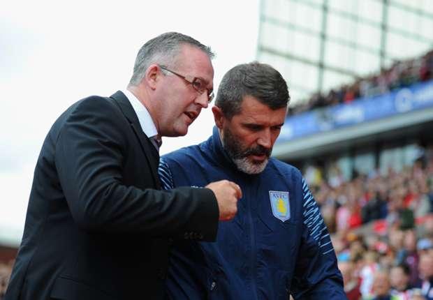 Lambert hails 'outstanding' Villa