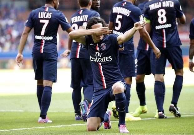 Paris Saint-Germain 2-0 Bastia: Ibrahimovic injured but Cavani clinches victory