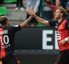 Rennes hit Evian for six