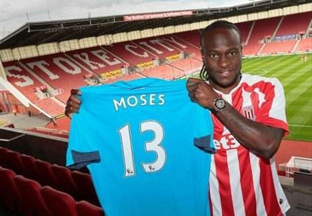 Victor Moses joins Stoke City