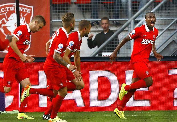 Mokotjo bracht Twente in de eerste helft aan de leiding