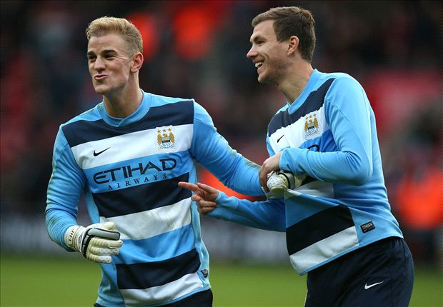 Hart & Dzeko next to sign new Manchester City contracts
