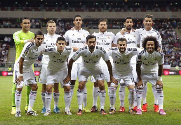 El 11 titular del Real Madrid ante la Fiorentina
