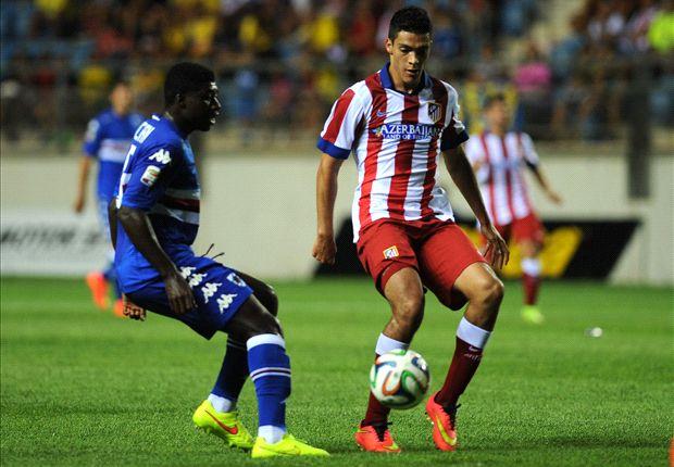 Atlético 2-0 Sampdoria: Asustan antes de la Supercopa