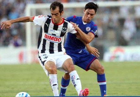 Liga MX: Monterrey 3-1 Cruz Azul