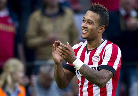 Memphis Belle: Depay flying at PSV