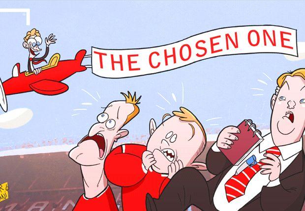 El fantasma de David Moyes atormenta a Louis van Gaal en el Manchester United