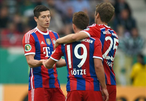 Bayern needed 'perfect modern striker' Lewandowski, says Elber
