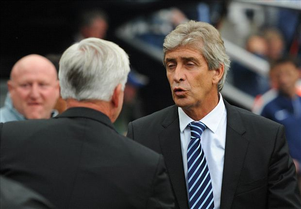 Pellegrini pleased with Manchester City attitude