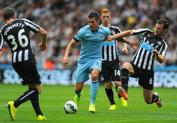 Laporan Pertandingan: Newcastle United 0-2 Manchester City