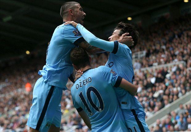 Newcastle 0-2 Manchester City: David Silva y Sergio Agüero tapan las carencias