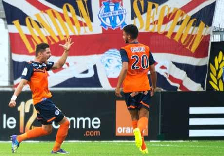Liga de Francia: OM 0-2 Montpellier