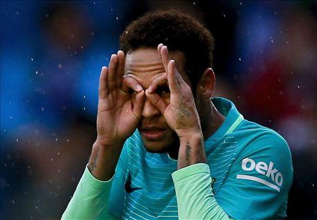 Neymar se pone en plan generoso