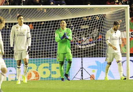 Navas sharp in goal as Madrid triumph