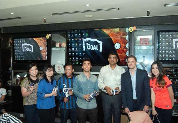 Acara ini khusus dihadiri oleh agensi periklanan serta kolega Goal Indonesia.