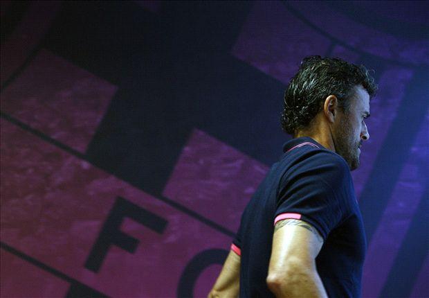 Luis Enrique hará su debut en un partido oficial.
