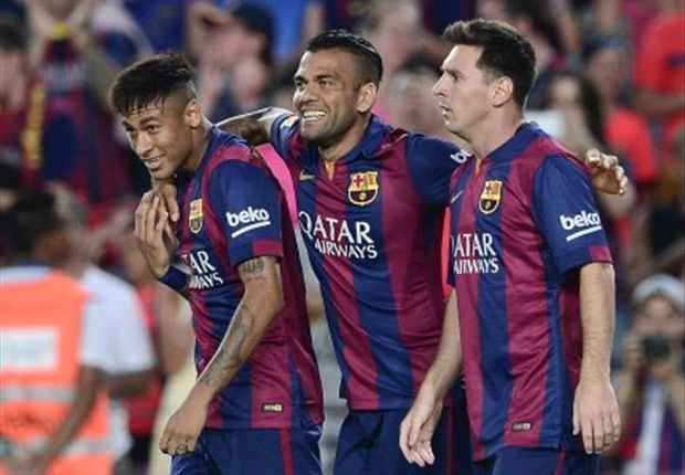 Alves: Neymar deserved Ballon d'Or runner-up spot