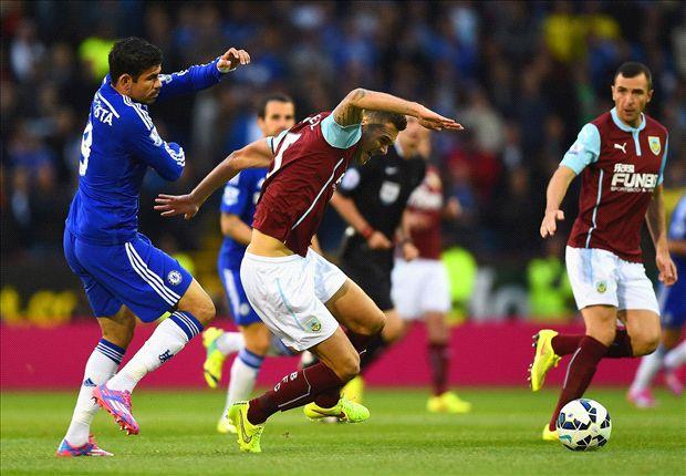 Diego Costa maakte zijn competitiedebuut met een doelpunt
