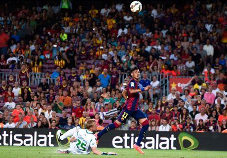 Trofeo Joan Gamper: Barcelona 6-0 León