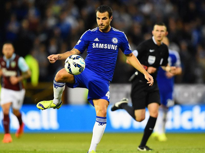 Cesc Fabregas: Playing for Chelsea is 'so easy'