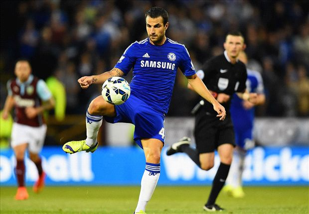 Fabregas: Playing for Chelsea is 'so easy'