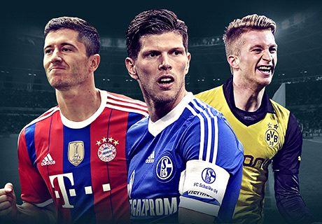 Bundesliga top scorer contenders