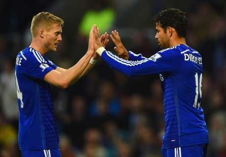 EPL: Chelsea bestens aufgelegt
