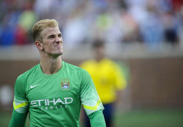 Hart ready to fight for Manchester City spot
